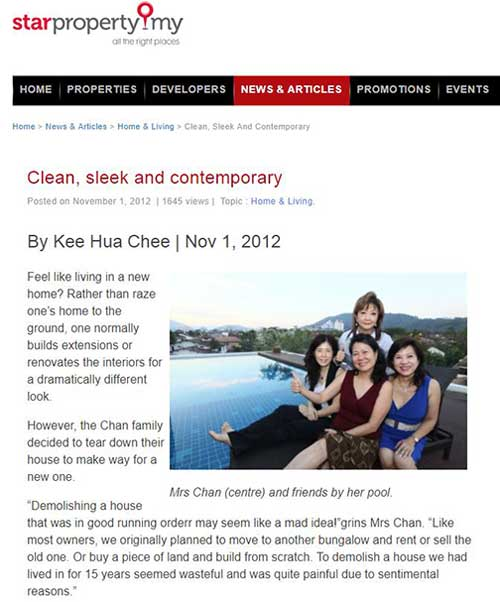 clean, sleak and contemporary article by starproperty