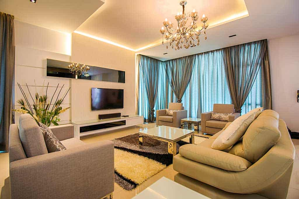 cyberjaya evergreen bungalow living room