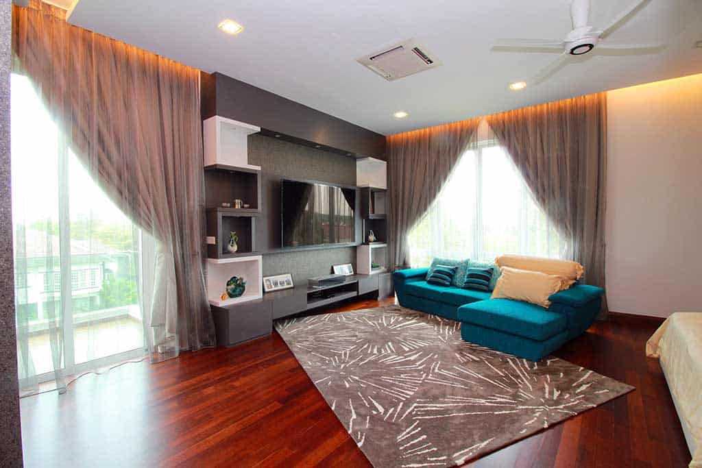 kajang country heights bungalow master bedroom
