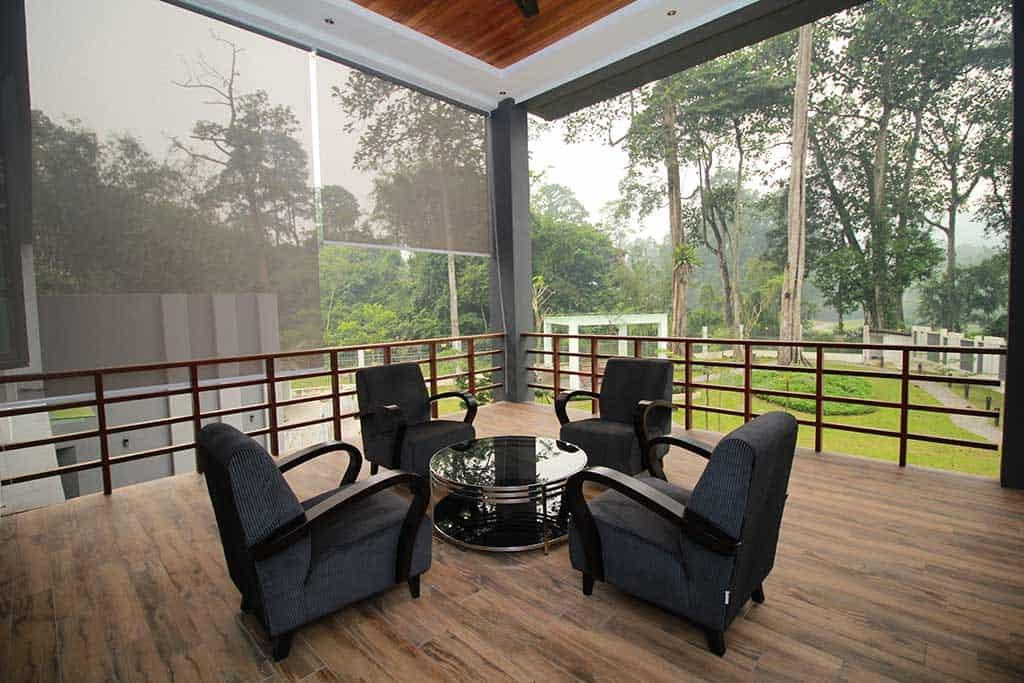 rawang templar park bungalow gazebo
