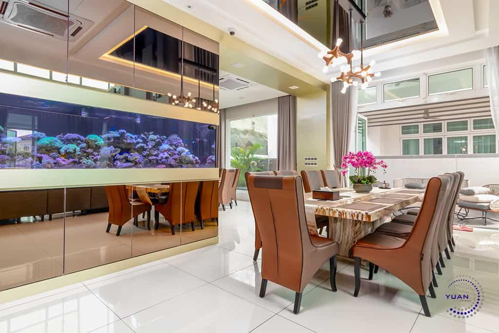 ambrosia kinrara puchong dining area view