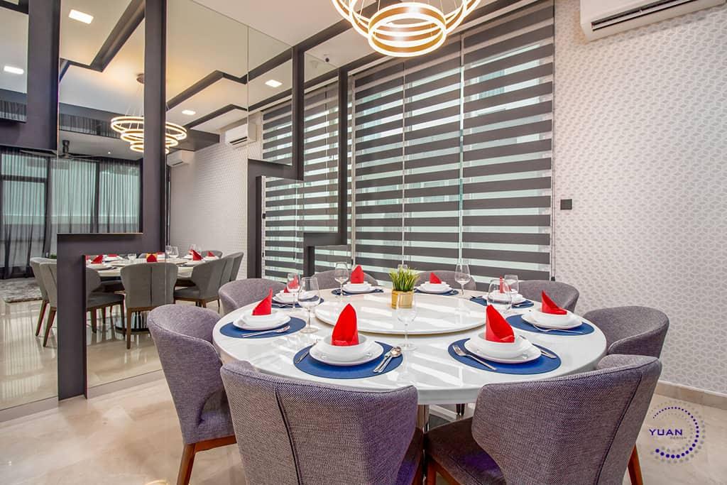 aspen garden residence cyberjaya dining