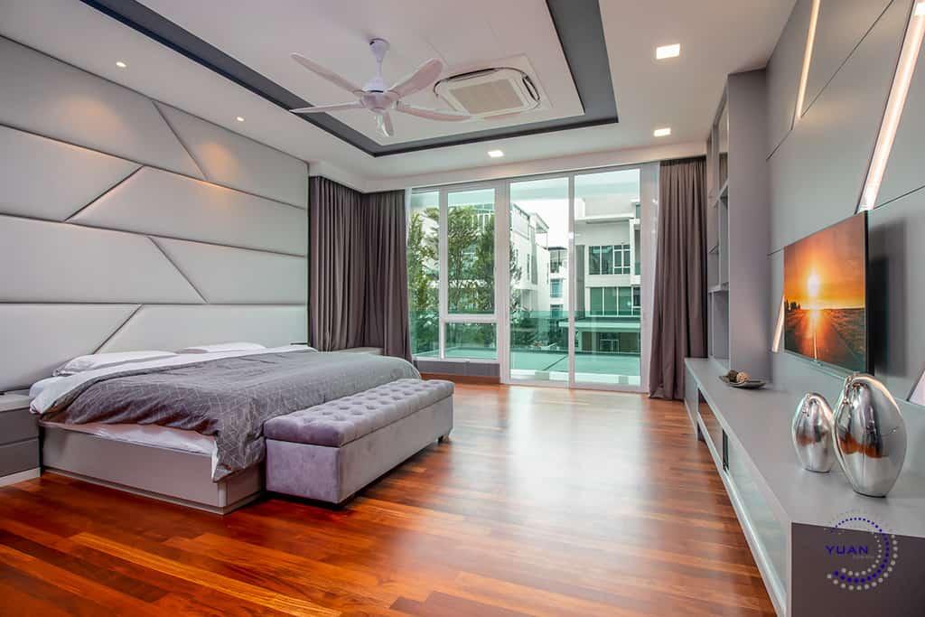 aspen garden residence cyberjaya master bedroom