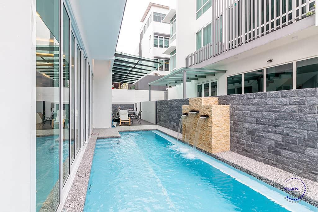 aspen garden residence cyberjaya water feature
