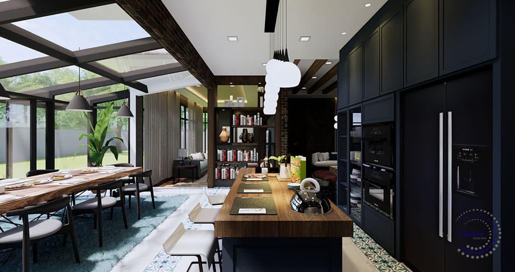 bungalow gombak 3 kitchen (1)