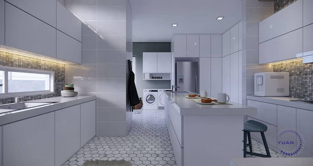 bungalow sg buloh d kitchen (1)