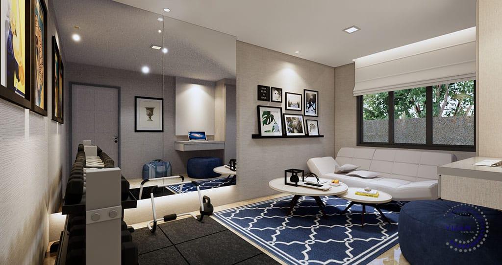 bungalow ttdi 4 guest bedroom