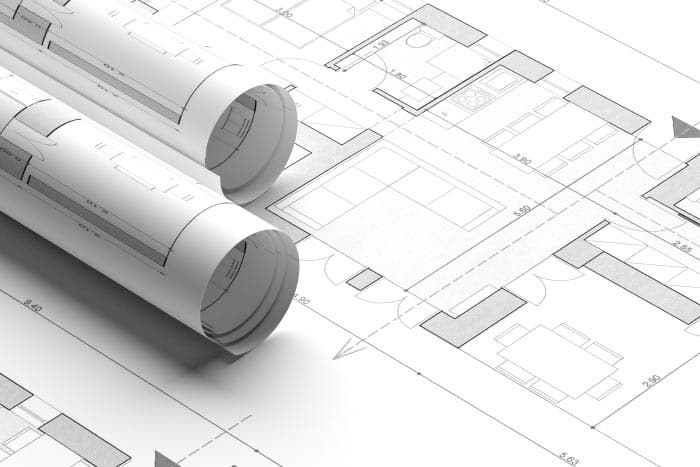 interior design services - space planning residential building blueprint plans